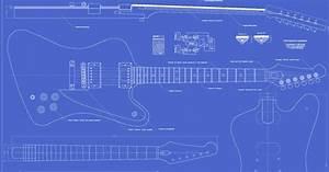 Gibson Firebird Studio Guitar Templates