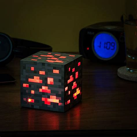Redstone Lamps At Night by Minecraft Redstone Ore Night Light Gadgetsin