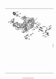 Stihl Ms170 Chainsaw Parts Diagram