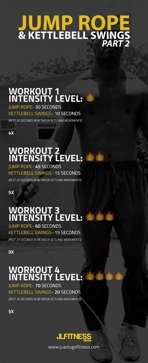 kettlebell workouts rope jump training workout juanlugofitness hiit