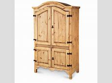 Rustic Pine Armoire 127541, Living Room at Sportsman's Guide