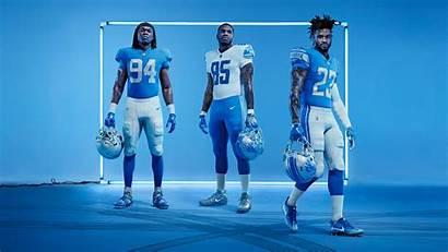 Lions Detroit Uniforms Jerseys Nike Rush Vapor