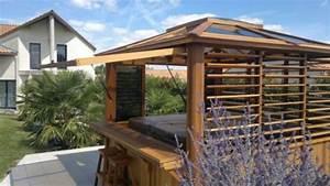 Spa Extérieur Bois : abri de spa en bois caract ristiques et avantages ~ Premium-room.com Idées de Décoration