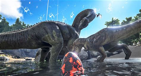 Ark Boat Nerf by Ark Survival Of The Fittest Brings Dinosaur Combat To Ps4