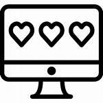 Rating Icon Icons Feedback Desctop Heart
