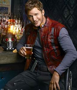 Chris Pratt Looks Cool As 'Star-Lord' In EW Portraits For ...
