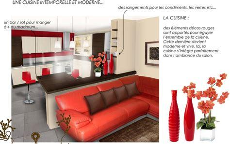 decoration cuisine americaine salon décoration salon et cuisine ouverte