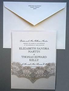 lace edged shimmer invitation pocket wedding invitations With wedding invitations on shimmer paper