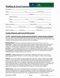 wedding event contract sample contract pinterest With wedding planner contract free