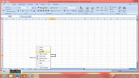 how many sheet insert in excel 2010 shift f11 excel