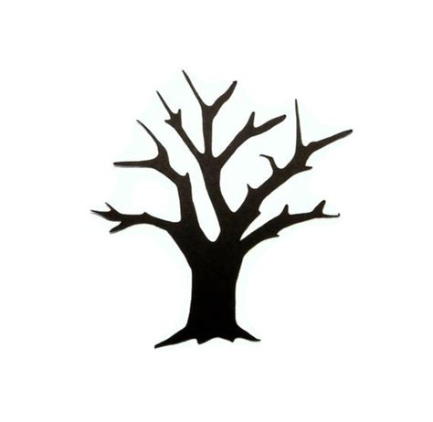 tree trunk clipart black and white tree trunk silhouette clip 38
