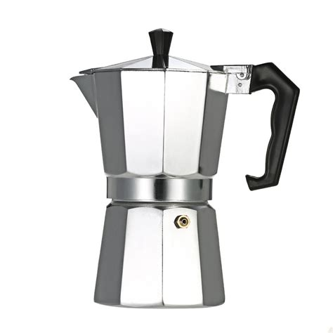 Cook n home stovetop coffee percolator at amazon. Second Hand 6-Cup Aluminum Espresso Percolator Coffee Stovetop Maker Mocha Pot for Use on Gas or ...