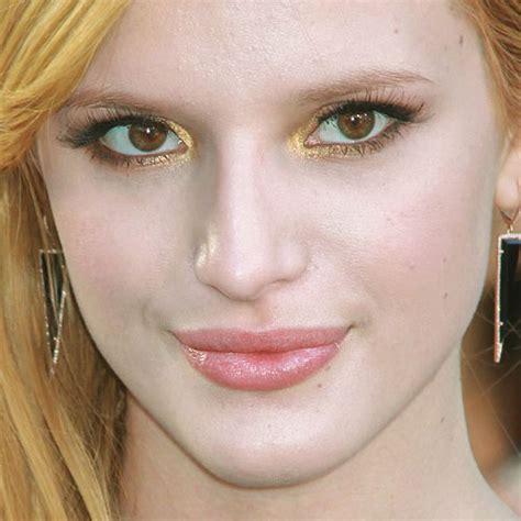 bella thorne makeup gold eyeshadow yellow eyeshadow