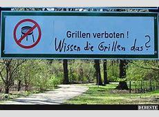 Grillen verboten! Lustige Bilder, Sprüche, Witze, echt