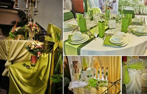 green and white wedding decoration pictures to pin on pinsdaddy