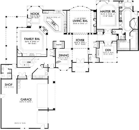 shaped  story  master  main  st floor master suite bonus room butler walk