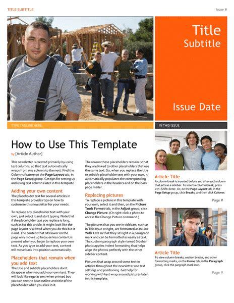 pin   share  template newsletter template