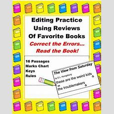 188 Best Images About Proofreading Activities On Pinterest  Editor, Student And Anchor Charts