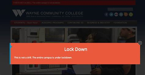 1 Dead In Shooting On Wayne Community College Campus In N