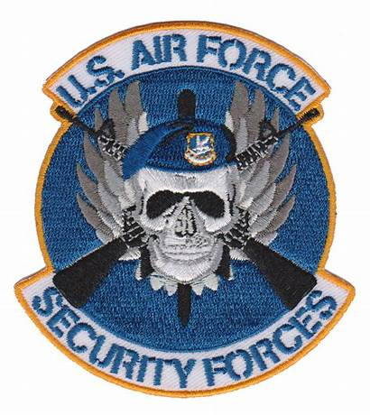Security Forces Usaf Patch Force Patches Air