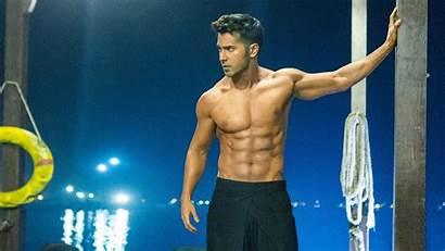 Varun Dhawan Abs Six Shirtless Packs Bollywood