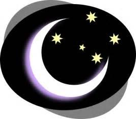 Night Moon Clip Art