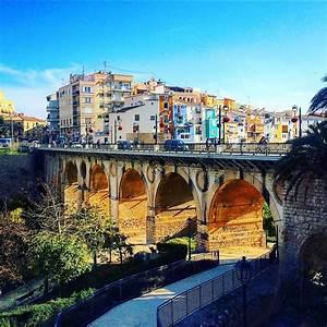 Anastasia On Instagram   U201c Villajoyosa  Spain  Winter  Bridge  Park  River  Sky U201d