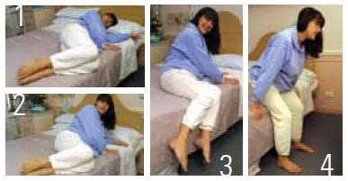 get out of mattress recovering from a c section delivery