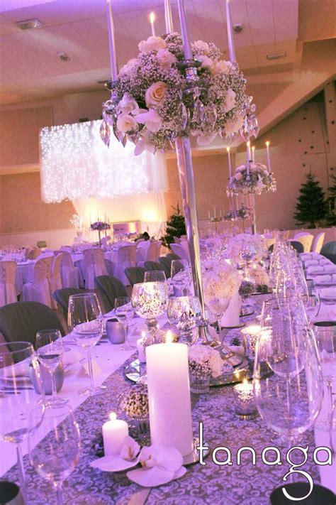 decoration de table mariage hiver winter wedding