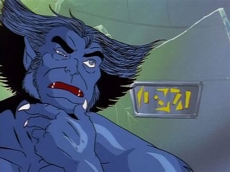 X Men Beast Cartoon