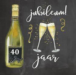 Onwijs Jubileum 40 jaar in dienst — ben je 12,5 AL-92