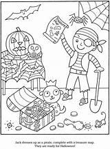 Halloween Coloring Pages Pirate Dover Kleurplaat Piraten Piraat Colouring Publications Skeleton Welcome Cupcakes Ipad Adult Kleurplaten Doverpublications Cool Disney Cook sketch template