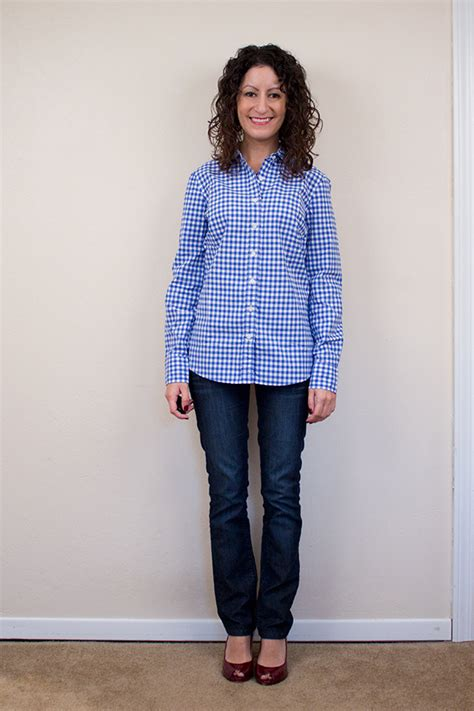 jcrew gingham boys  womens petite alterations needed