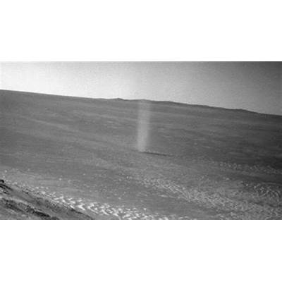 Mars Dust Devil Photobombs NASA Rover Photo Video - ABC News