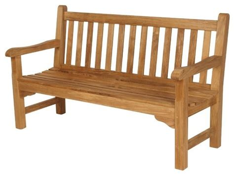 barlow tyrie glenham teak  bench traditional outdoor