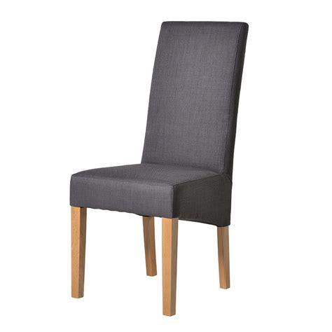 ch furniture grey dining chair oak legs dining