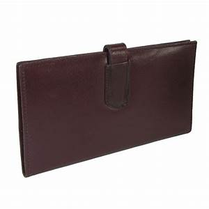 Leather travel wallet and document organizer by ctm for Leather travel document organizer