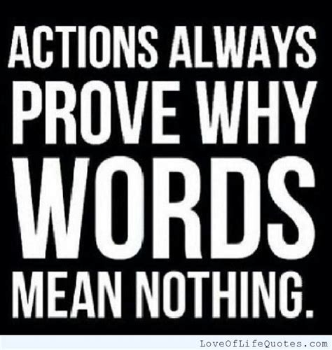 Quotes Action Vs Words