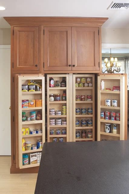 pantry style kitchen cabinets interior of large pantry cabinet eclectic kitchen
