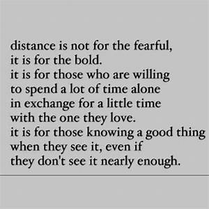 Ldr quote | LDR | Pinterest | Distance, Long Distance ...