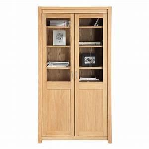 Bibliotheque Chene Clair : biblioth que vaisselier 2 portes ch ne clair maison et ~ Voncanada.com Idées de Décoration