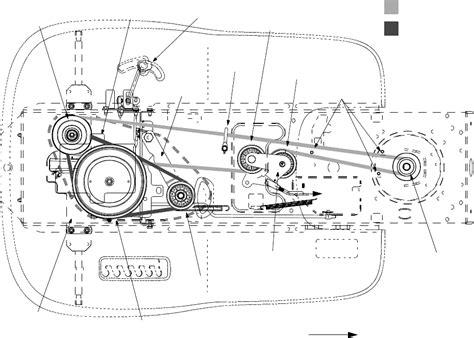 troy bilt bronco drive belt diagram page 23 of troy bilt lawn mower ltx 1842 user guide