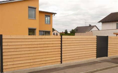 Sichtschutzzaun Selbst Bauen by Sichtschutz Selber Bauen Holz Haus Design Ideen