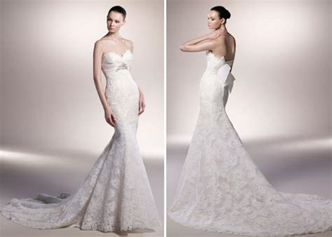 Beautiful Ivory Lace Mermaid Wedding Dress With Sweetheart