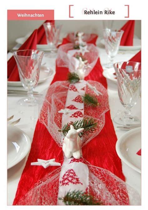 Weihnachtliche Tischdeko Selber Basteln by Saisonale Tischdekoration Weihnachten Winter