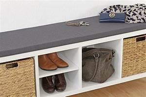 Schuh Sitzbank Ikea : diese sitzauflage passt perfekt auf dein langes kallax regal von ikea new swedish design ~ Markanthonyermac.com Haus und Dekorationen