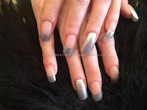 Eye Candy Nails & Training - Acrylic nails with silver ...