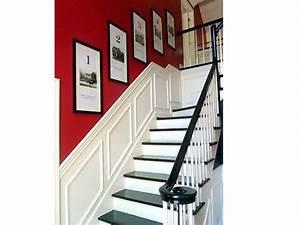 couleur pour cage d escalier maison design bahbecom With peindre un escalier bois 10 aide pour la deco et la couleur des murs couloir et cage