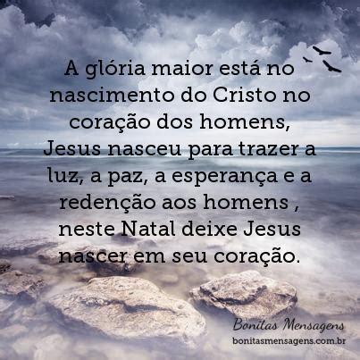 gloria maior esta  nascimento  cristo  coracao dos