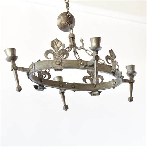 oval fleur de lis chandelier the big chandelier